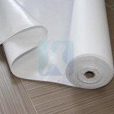 Липкие белые ткани войлока полиэфира с покрытием
