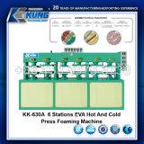 Pressione o primeiro tempo quente EVA Pequenas Máquinas de espumas para equipamento Palmilha Pad tornando