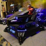 Realidade virtual de máquina de jogo da arcada do estilo de Mecha que compete o simulador da condução de carro do simulador 9d Vr