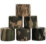 Bande pure de canon de camouflage de bande de conduit de Camo de camouflage de support de coton
