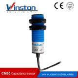 Plástico Cm30 NPN do ABS nenhum sensor de proximidade da capacidade com Ce