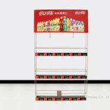 슈퍼마켓 냉장고 제품 측벽 Matel 진열대