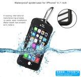 iPhone 7のためのくもデザイン防水セルまたは携帯電話のケース