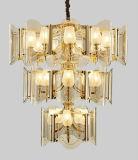 Europäische Art-Luxuxhängende Glaslampe (GD18144P)