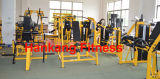 Force de marteau, matériel de forme physique, machine de gymnastique, machine de construction de corps, déclin combiné (HS-3041)