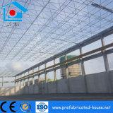 Amplia gama ligera estructura de acero del bastidor de la armadura de espacio para la construcción de la fábrica