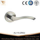 Embedded Poignée du levier d'aluminium pour porte de bois (AL120)