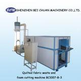 Het gewatteerde Afval van de Stof & de Scherpe Machine van het Schuim voor Hoofdkussen /Cushion