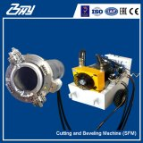 Od取付けられた携帯用油圧は(電気)フレームまたは管の切断および斜角が付く機械- SFM0206H分割した