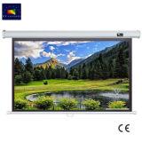 84 Zoll-ökonomischer Bildschirm-manueller Projektions-Bildschirm mit Selbst-Verschluss für Hochschulschule/Schulwesen