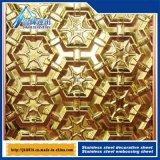 201 304 316 Plaque métallique gaufré Plaque décorative avec divers 528