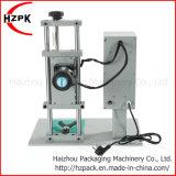 Macchinario di coperchiamento Semi-Automatico dell'imballaggio della capsula della capsulatrice di Desktype della macchina