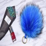 Le Raton laveur boule de fourrure véritable Foxtails Trousseau Poms fourrure véritable colliers