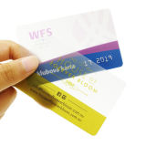 Cr80 kundenspezifische Geschäfts-transparente Plastik-Belüftung-Karte