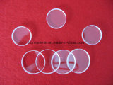 Partie de polissage optique claire du quartz Jgs3