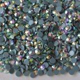 L'ab colora i branelli di vetro del Rhinestone di Hotfix per gli accessori dell'indumento