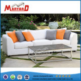 Jardín de estilo americano, armazón de aluminio sofá
