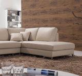 Mobília 628# do hotel do sofá do couro genuíno da sala de visitas