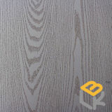 Papel impregnado da grão da madeira de carvalho branco melamina decorativa para o folheado, a porta e a mobília do fabricante chinês
