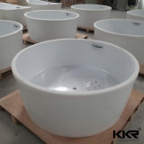 ドバイ(BT170523)への卵形の固体表面のジャクージの浴槽