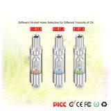 V3 Cartucho de vidrio de 0,5 ml de aceite de calefacción cerámica CBD