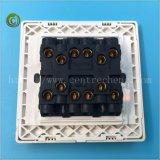 Interruttore elettrico della parete del piatto di modo di modo 2 del gruppo 1 di alta qualità 10A 4