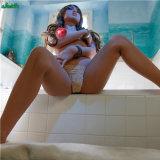 L'amour adulte joue sein de silicones de 155cm le petit de poupée réaliste de sexe