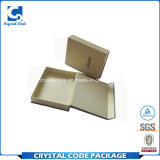 Aufbereiteter Firmenzeichen-Drucken-gewölbter Schal-Papierkasten