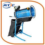 Agitador de la criba vibratoria portátil de la máquina de criba giratoria para el suelo y el compost