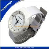 Geschäftsversicherungs-Qualitäts-Uhr mit echtes Leder-Band