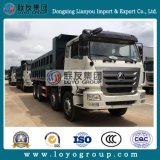 Hight QualitätsSinotruk Hohan 8X4 Speicherauszug/Lastkraftwagen mit Kippvorrichtung für Verkauf