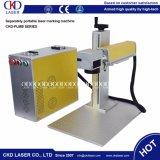 Laser-Stich-System der Faser-20W für Markierungs-Firmenzeichen auf Quarzoszillator