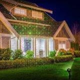 Lumière laser solaire extérieure de jardin pour la décoration de vacances de Noël