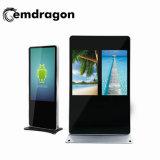 De haute qualité de la publicité mobile 32 pouces écrans à affichage LCD avec affichage du capteur de l'intérieur de la publicité des moniteurs à écran tactile/Affichage /USB