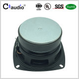 4 Zoll-Gummirand-Papier-Kegel-Ferrit-Magnet-Multimedia-Lautsprecher