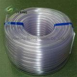 6mm de PVC flexible de carburant en plastique d'huile de tube transparent