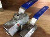 Gewinde-Kugelventil des Edelstahl-1PC Hex sechseckiges