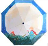 أصليّة تصميم جديدة يدويّة [أنتي-وف] مظلة مطي نمو صامد للريح [سون] مطي سيّدة مظلة كلّيّا لأنّ نساء 2018