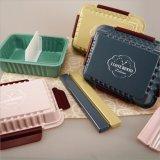Casella di pranzo di plastica del contenitore di alimento della casella di Bento 20007
