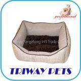 راحة إبرة فروة كلب قطع محبوب سرير ([و101088/ك])