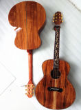 Профессиональный Whoolesale твердых верхней части Гавайских комфортабельны Акустическая гитара
