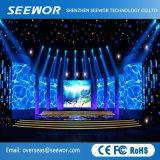 Peso ligero P6.25mm LED de interior para el alquiler de vallas publicitarias