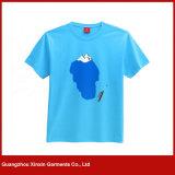 O Short da manufatura da fábrica de Guangzhou Sleeves o fabricante da camisa de T dos homens (R04)