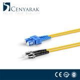 Sc monomodo dúplex St para fibra óptica Patch Cord