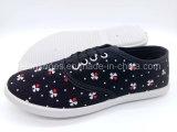 Удобная тапка ботинок холстины женщин обувает оптом (FPY818-15)
