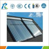 Acero inoxidable tubo de vacío colector solar para México