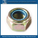 Insertar la brida de nylon de cabeza hexagonal tuerca