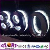 Custom Frontlit/canal LED rétroéclairé lettre signer pour la publicité