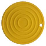 Couvre-tapis chaud de support de bac de silicones anti-caloriques antidérapants de catégorie comestible de vaisselle de cuisine