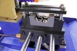 Автомат для резки нержавеющей стали Yj-355CNC голубой Микрокомпьютером